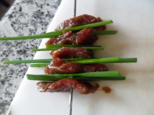 beef onion skewers