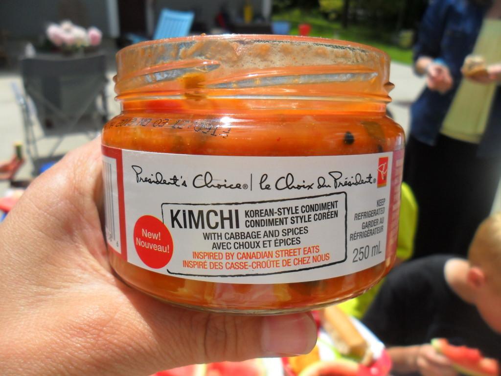 kimchi condiment