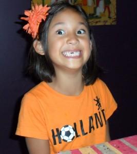 Jaina's grin