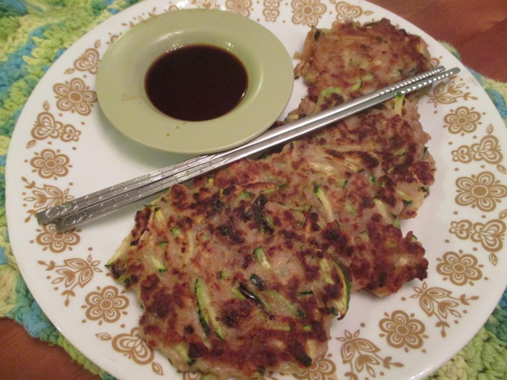 pork zucchini pancakes