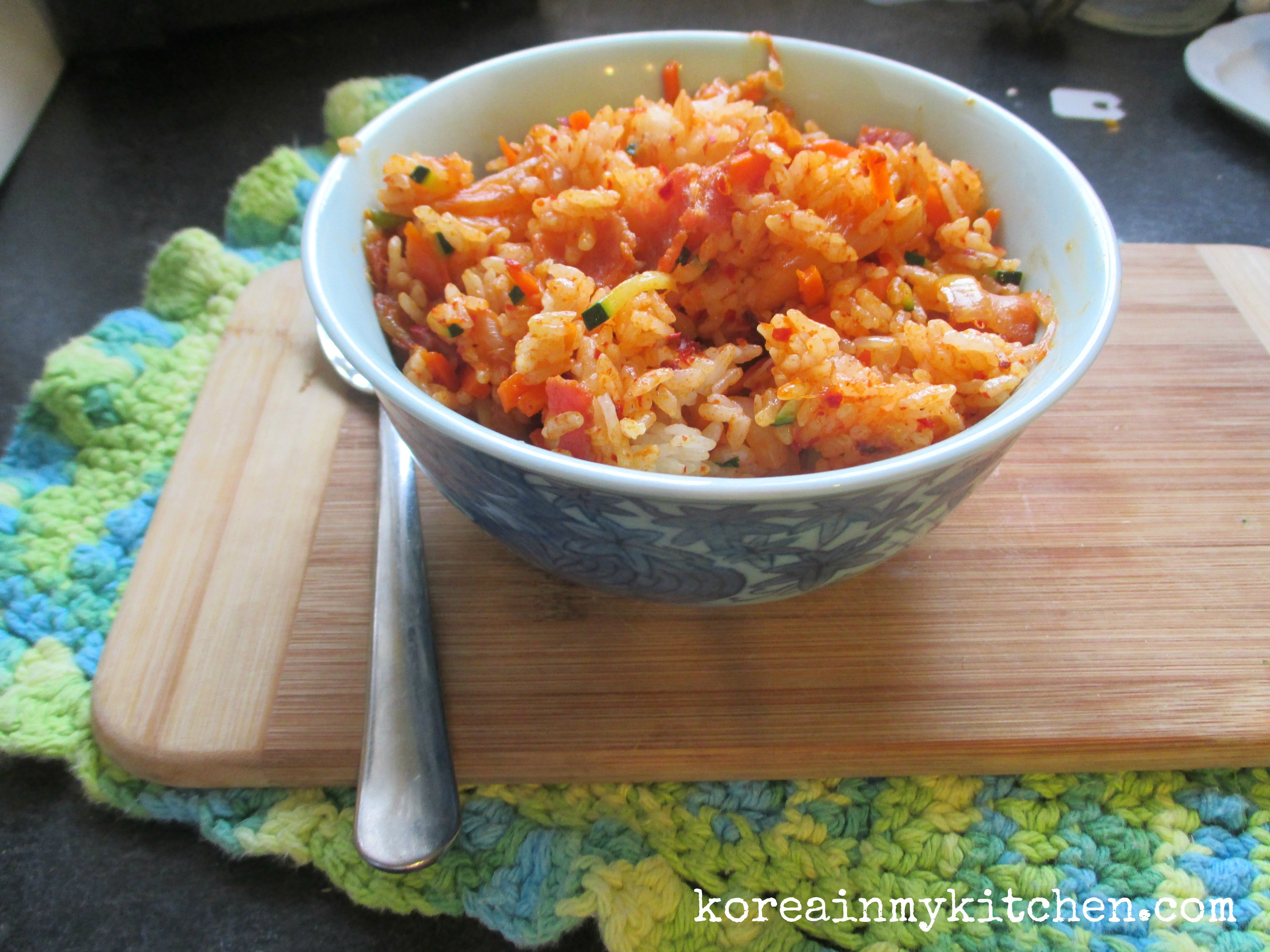 kimchi bokumbap
