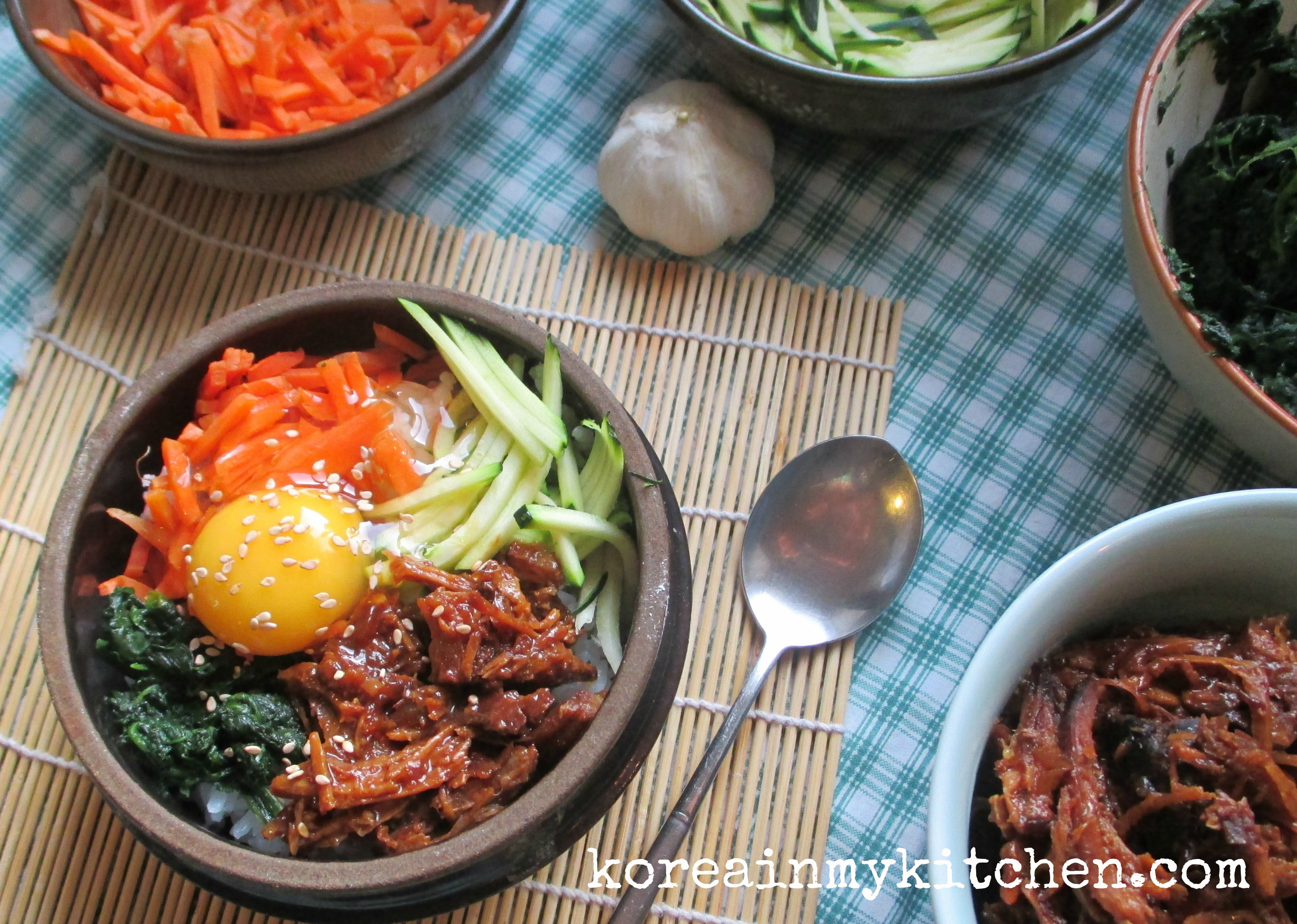 pulled pork bibimbap