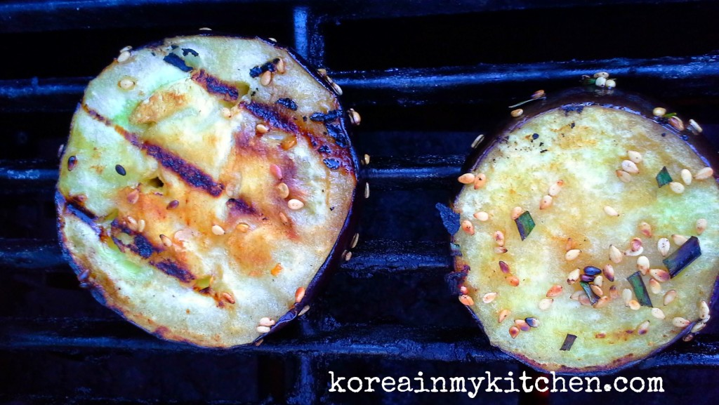 eggplant grill